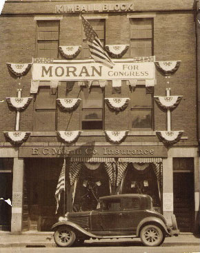 EC Moran Office Front Photo 1933